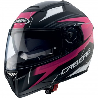 Casque Integral Caberg Ego Quartz Matt Black Fuschia