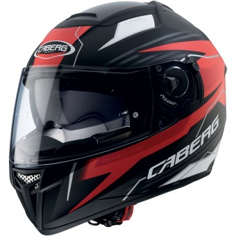 Casque Integral Caberg Ego Quartz Matt Black Red