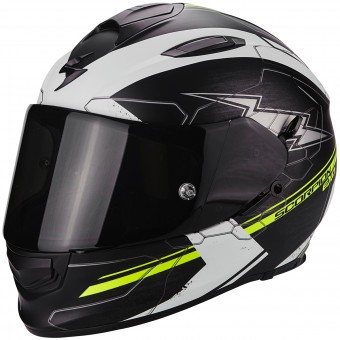 Casque Integral Scorpion Exo 510 Air Cross Matt Black Neon Yellow