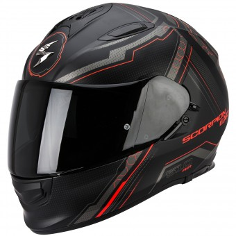 Casque Integral Scorpion Exo 510 Air Sync Matte Black Neon Red