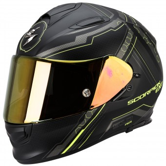 Casque Integral Scorpion Exo 510 Air Sync Matte Black Neon Yellow