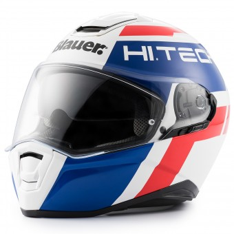 Casque Integral Blauer Force One 800 White Blue Red