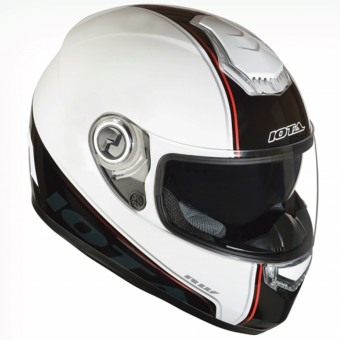 Casque Integral IOTA FP09 White Red