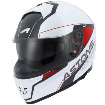Casque Integral Astone GT 1000F Gamatron Red White