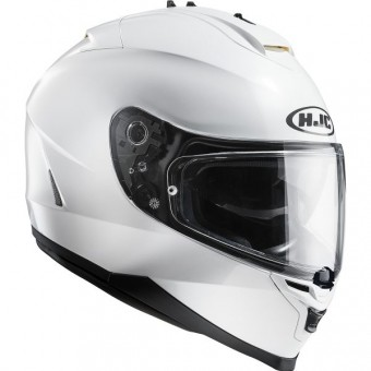 Casque Integral HJC IS17 Metal Weiß