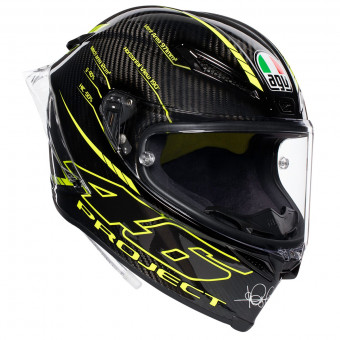 Casque Integral AGV Pista GP R Project 46 3.0 Carbon