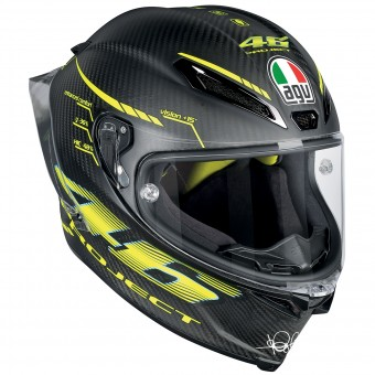 Casque Integral AGV Pista GP R Top Project 46 2.0 Carbon Matt