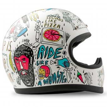 Casque Integral Dmd Racer Tribal