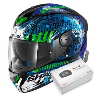 Casque Integral Shark Skwal 2 Replica Switch Riders 2 KBG