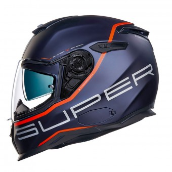 Casque Integral Nexx SX.100 Superspeed Blue Red Matt