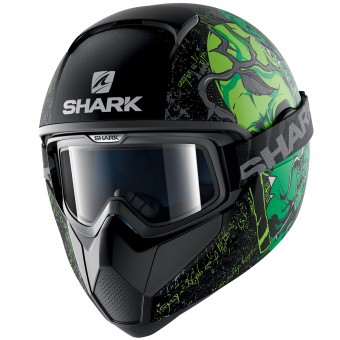 Casque Integral Shark Vancore Ashtan Mat KGG