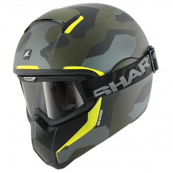 Casque Integral Shark Vancore Wipeout Mat GGY