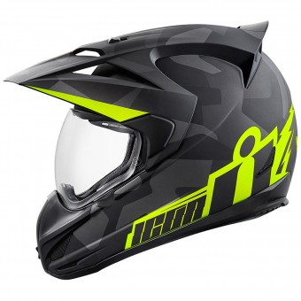Casque Integral ICON Variant Deployed Black