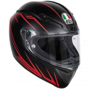 Casque Integral AGV Veloce S Predatore Matt Black Red