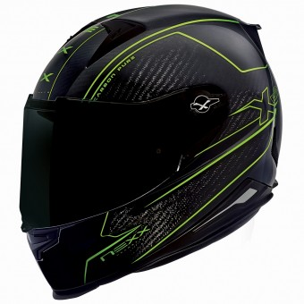Casque Integral Nexx X.R2 Carbon Pure Neon Gelb