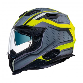 Casque Integral Nexx X.WST2 Motrox Neon Yellow