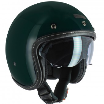Casque Jet UBIKE Challenge English Green