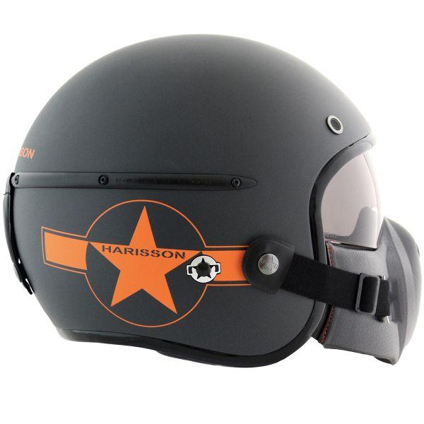 HARISSON Corsair Star Deco Grau Mat Orange