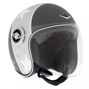 Casque Jet Edguard Dirt Ed Visor Black N'Roll Matt