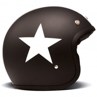 Casque Jet Dmd Star Schwarz