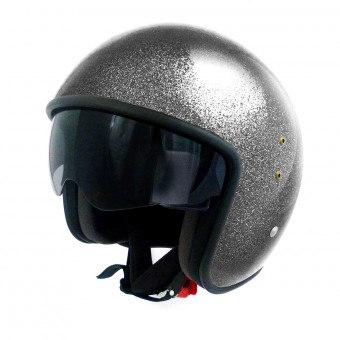 Casque Jet Up Smart Glitter Black