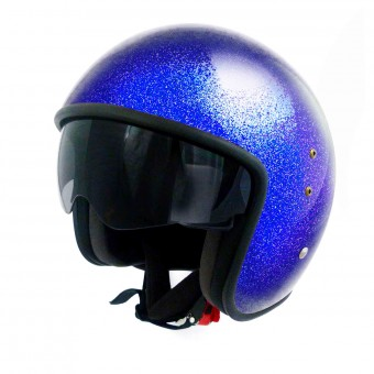 Casque Jet Up Smart Glitter Blue