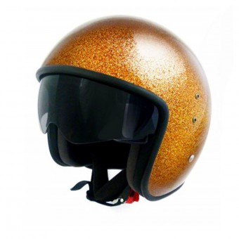 Casque Jet Up Smart Glitter Gold