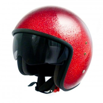 Casque Jet Up Smart Glitter Red