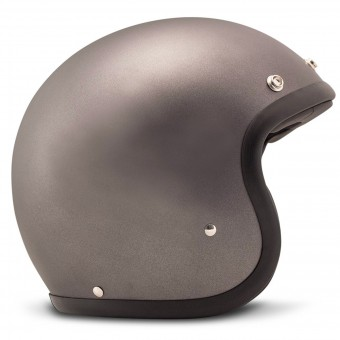 Casque Jet Dmd Vintage Solid Grey