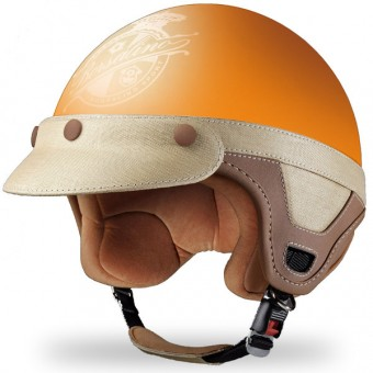 Casque Jet Borsalino Panama Orange Matt