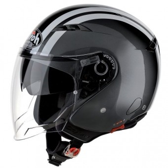 Casque Jet Airoh City One Flash Anthrazit