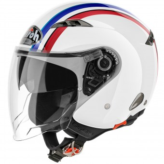 Casque Jet Airoh City One Style White