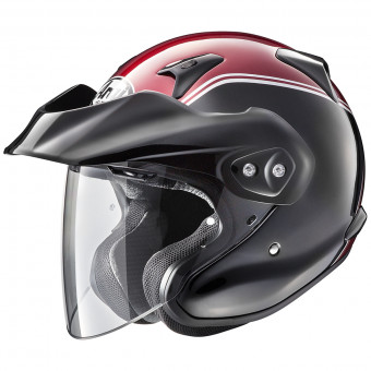 Casque Jet Arai CT-F Honda Goldwing Red