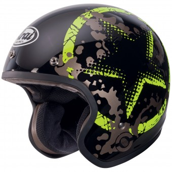 Casque Jet Arai Freeway 2 Classic Comet Green