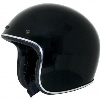 Casque Jet AFX FX-76 Black Chrome