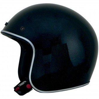 Casque Jet AFX FX-76 Black Metal Flake