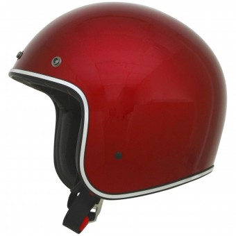 Casque Jet AFX FX-76 Flat Candy Appel Red