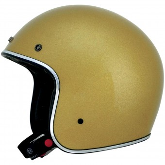 Casque Jet AFX FX-76 Gold Metal Flake