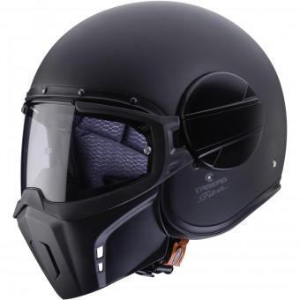 Casque Jet Caberg Ghost Matt Black