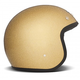 Casque Jet Dmd Glitter Gold