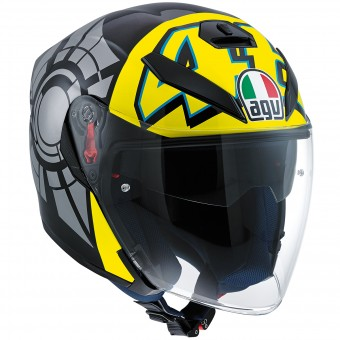 Casque Jet AGV K-5 Jet Top Winter Test 2012