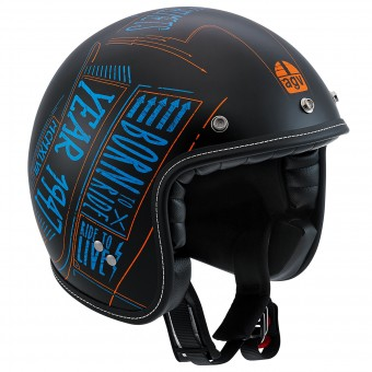 Casque Jet AGV RP60 Blackboard Matt Black