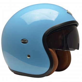 Casque Jet Edguard Speed Ed Blau