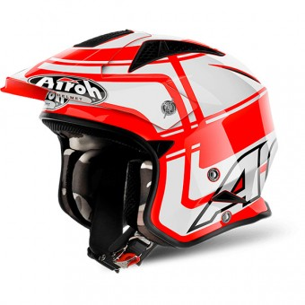 Casque Jet Airoh TRR S Vintage Red