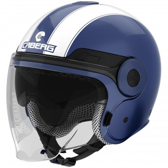 Casque Jet Caberg Uptown Legend Blue Midnight