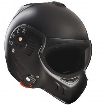 Casque Klapp Roof Boxer V8 Full Black Mat