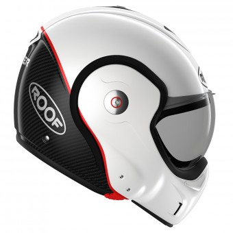 Casque Klapp Roof Boxxer Carbon Pearl White