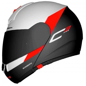 Casque Klapp Schuberth C3 Pro Gravity Red