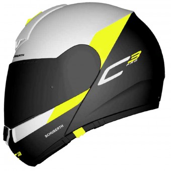 Casque Klapp Schuberth C3 Pro Gravity Yellow
