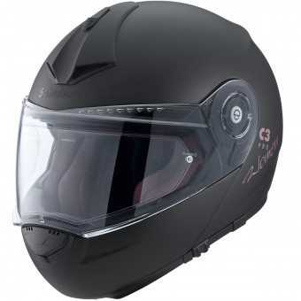 Casque Klapp Schuberth C3 Pro Women Schwarz Matt
